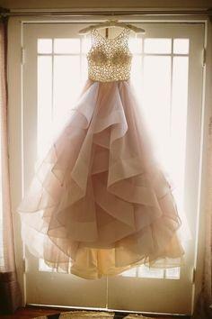 Charming Prom Dress,A Line Prom Dress,Layered Organza Prom Dress,Fashion Bridal Dress,Sexy Party Dress, New Style Evening Dress