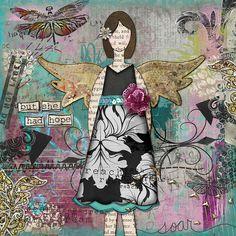 She Art - digi by lynnirene, via Flickr