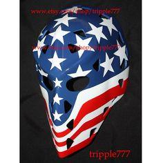 Hockey mask, Hockey goalie, NHL ice hockey, Roller Hockey, Hockey goalie mask, Hockey helmet Wolfe mask HO28