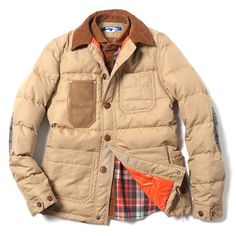 Fancy - Trittolemo Quilted Down Jacket by Junya Watanabe MAN x Duvetica
