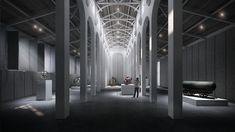 Image 21 of 24 from gallery of Kengo Kuma and OODA Win Competition to Redevelop Porto Slaughterhouse. Courtesy of Kengo Kuma & Associates + OODA Kengo Kuma, Shigeru Ban, Steven Holl, Peter Zumthor, John Pawson, Carlo Scarpa, Space Gallery, Art Gallery, Materials And Structures