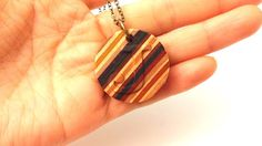 Chansthinks Wood Crafts! 찬이생각: Chansthinks Recycled Skateboard Personalized Korean Initial Custom Engraved carved Necklace