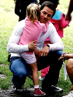 nothing hotter than a good dad!  or maybe just mark wahlberg. ;)