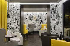 Amazing Fresco in a Parisian Restaurant – Fubiz™