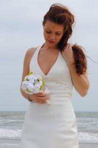 DIY Crochet Bridal Flowers- Bridal Bouquet and Boutonniere