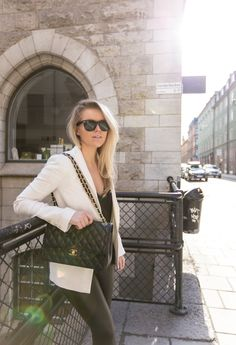 WHITE BLAZER : P.S. I love fashion by Linda Juhola