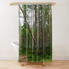 'Summer Magic ' Shower Curtain by Niina Niskanen Into The Woods, Cozy House, Original Paintings, Wall Art, Shower Curtains, Artwork, Photographs, Prints, Architecture
