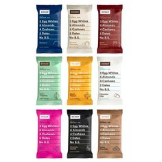RxBar - Protein Bars  #glutenfree #paleo #diet #organic #food #shopping #bars