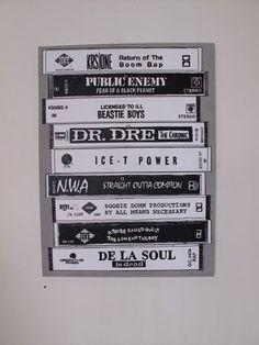 Old school hip hop tapes! @HipHopOldSchool