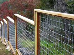 mid century modern wire fencing - Google Search