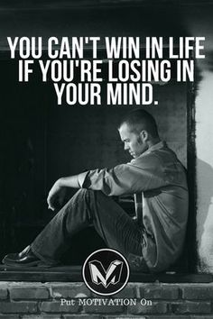 Win in your mind. Follow all our motivational and inspirational quotes. Follow the link to Get our Motivational and Inspirational Apparel and Home Décor. #quote #quotes #qotd #quoteoftheday #motivation #inspiredaily #inspiration #entrepreneurship #goals #dreams #hustle #grind #successquotes #businessquotes #lifestyle #success #fitness #businessman #businessWoman #Inspirational