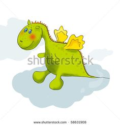 cute baby dragon cartoon for 2012