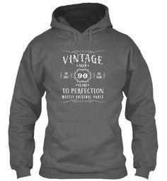 Vintage Aged 90 Years Birthday T-Shirt