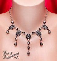 Enchanted Drop Necklace by ArtOfAdornment