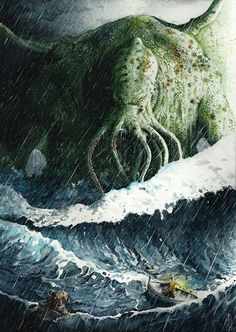 Call of Cthulhu by Ozakuya.deviantart.com on @DeviantArt