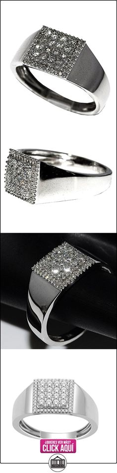 rings-midwestjewellery. com Hombre 1/2cttw, cuadriculado, anillos de boda oro blanco de 10K 9mm de ancho 10K Comfort Fit (0.5cttw)  ✿ Joyas para hombres especiales - lujo ✿ ▬► Ver oferta: https://comprar.io/goto/B00MDVFIBK