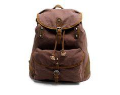 Canvas Backpack School Backpack Rucksack AF18