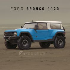 Quick modeling Based on spay photo and Bronco Baja racing team images 2020 Bronco, Bronco Car, New Bronco, Early Bronco, Chevrolet Trucks, Chevrolet Impala, Ford Trucks, 1957 Chevrolet, 4x4 Trucks