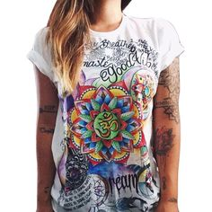 S-4XL 2016 Brand New T Shirt Women Round Neck Tops Short Sleeve Print Punk Rock T-Shirt Fashion Summer Tees For Ladies Plus Size