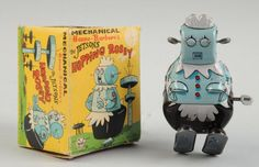 "Rosie the robot from ""The Jetsons"" - Wind-up tin toy"