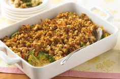 This scrumptious spring casserole, with its crunchy topping and cheesy filling, is a KRAFT Kitchens' favourite.