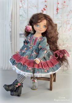 Коллекция кукольных фантазий: авторская кукла