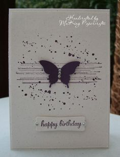 My Simples Sunday card today is one I've unashamedly CASE'd from a fellow team member, Aida Dominguez VD Veeken. Aida is a Stampin'Up! de...