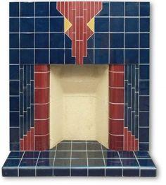 Albemarle Art Deco fireplace insert | Twentieth Century Fireplaces