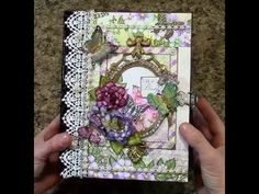 PART 2 TUTORIAL HEARTFELT CREATIONS BUTTERFLY MEDLEY MINI ALBUM - DESIGNS BY SHELLIE - YouTube