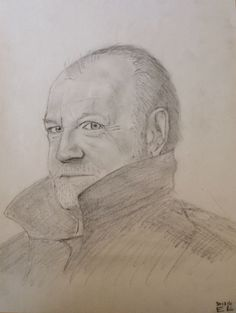 Joe cocker plus grande perte de 2014 avec Robin Williams ... #drawings #portrait #crayon