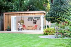 Outdoor rooms for when you can't build on, but need extra space.