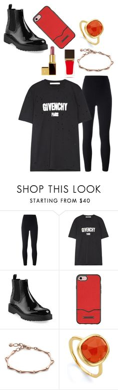 """""""."""" by laura-lorena-forever ❤ liked on Polyvore featuring adidas Originals, Givenchy, Prada, Rebecca Minkoff, Monica Vinader and Tom Ford"""