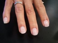 My favorite CND Shellac color =Romantique. You nails look subtlety and naturally… My favorite CND Shellac color =Romantique. You nails look subtlety and naturally manicured and it looks that way the whole two weeks you wear it! Cnd Shellac Colors, Nail Polish Colors, Pink Shellac Nails, Shellac French Manicure, Cnd Colours, Pink Nail, Gel Polish, French Nails, How To Do Nails