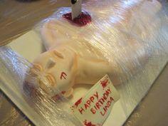 AMAZING!! Dexter cake. For your dexter parties
