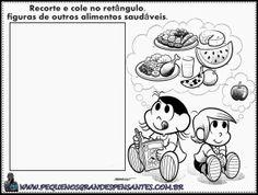 Pequenos Grandes Pensantes.: Atividades Sobre Alimentação na Educação Infantil ...