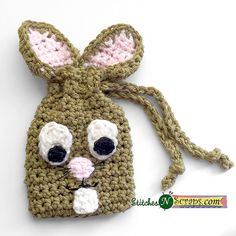 Pipsqueak bunny bag free crochet pattern by jennifer pionk at a bunny bag a free crochet pattern on negle Choice Image