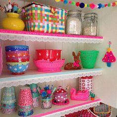 Put a little crochet tree on the kitchen wall   #crochet #kitchen…