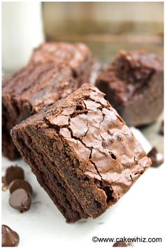 how to make fudgy brownies with crackly tops 6