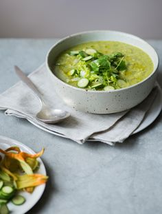 Two refreshing late summer soup recipes | The modern cook
