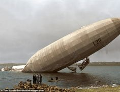 How Germany's First World War Zeppelin raids threatened London World War One, First World, Ww1 Photos, Ww1 Soldiers, Air Raid, Historical Pictures, World History, Colorful Pictures, Raiders