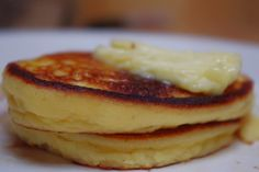 Coconut flour pancakes via plantoeat. We tried these and they're some of the better grain free pancakes.