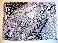 Casa Edera #zentagle inspired art #doodle #art