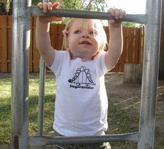 Stegonormalus Toddler T-Shirt or Baby Bodysuit. $14.00, via Etsy.