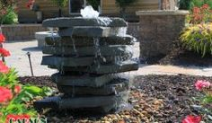 Omaha Water Features   Waterfalls   Bubblers   Fountains   Ponds   Carson Enterprises - Omaha NE