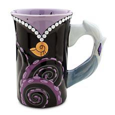 Ursula Mug - Disneystore.com Walt Disney World, Disney Home, Disney Parks, Disney Gift, Disney Disney, Disney Magic, Disney Tassen, Disney Princess Mugs, Art Et Design