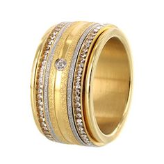 iXXXi ring gold crystal