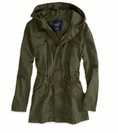Army Parka- Really great looks good with everything :D Green Cargo Jacket, Olive Jacket, Olive Green Jackets, Green Coat, Army Green Jackets, Army Surplus Jacket, Khaki Jacket, Camo Jacket, Jacket Style