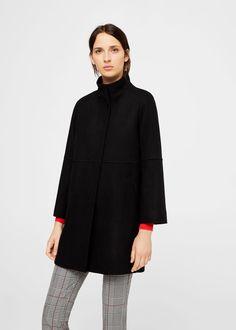 Cappotto diritto lana