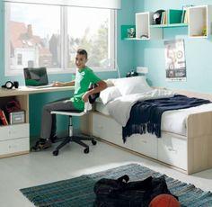 Trucos para #decorar #habitaciones #infantiles. #Dormitorio Niu de #Kibuc.