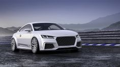 2014 Audi TT Quattro Sport Concept http://www.wsupercars.com/audi-2014-tt-quattro-sport-concept.php